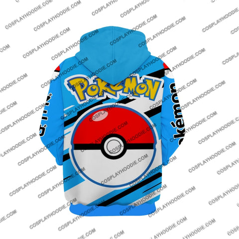 Pokemon Squirtle Cosplay Hoodie Jacket