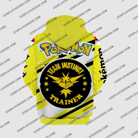 Image of Pokemon Zapdos Cosplay Hoodie Jacket