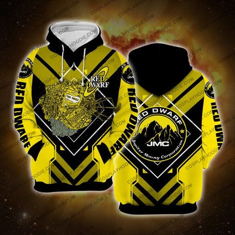 Image of Red Dwarf Yellow Hoodie Cosplay Jacket