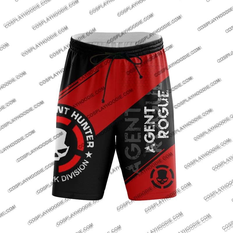 The Division Rogue Agent For Men V1 Board Shorts