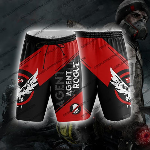Image of The Division Rogue Agent For Men V2 Board Shorts