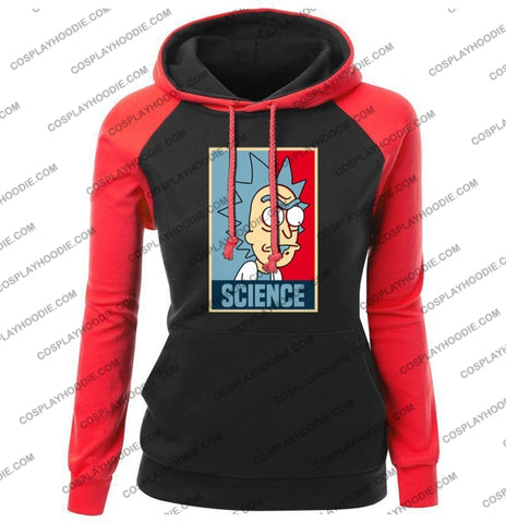 Science Rick And Morty Funny Print Womens Hoodie Color3 / S