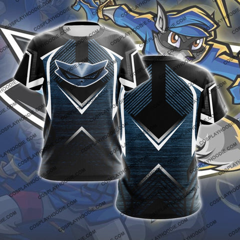 Sly Cooper Metal Cosplay T-Shirt T-Shirt