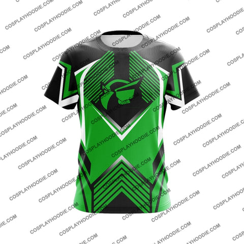 Sly Cooper Green Cosplay T-Shirt T-Shirt