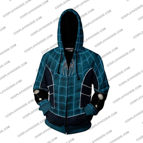Image of Spider-Man Fear Itself Cosplay Ps4 Zip Up Hoodie Jacket