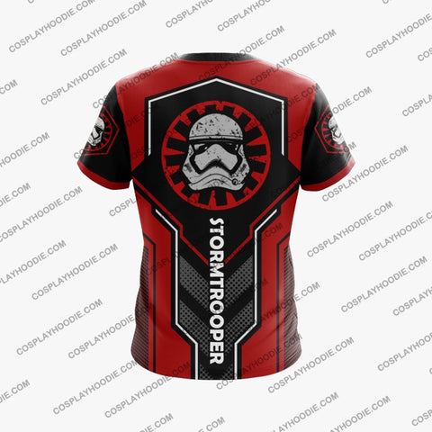 Image of Star Wars Stormtrooper 2015 Red T-Shirt T-Shirt