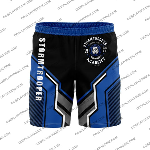 Image of Star Wars Stormtrooper Blue Borad Short Board Shorts