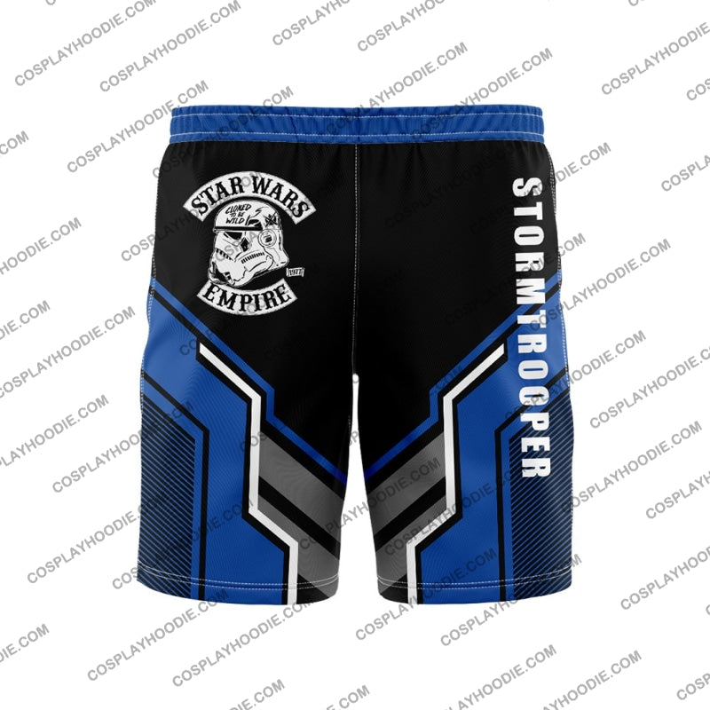 Star Wars Stormtrooper Blue Borad Short Board Shorts