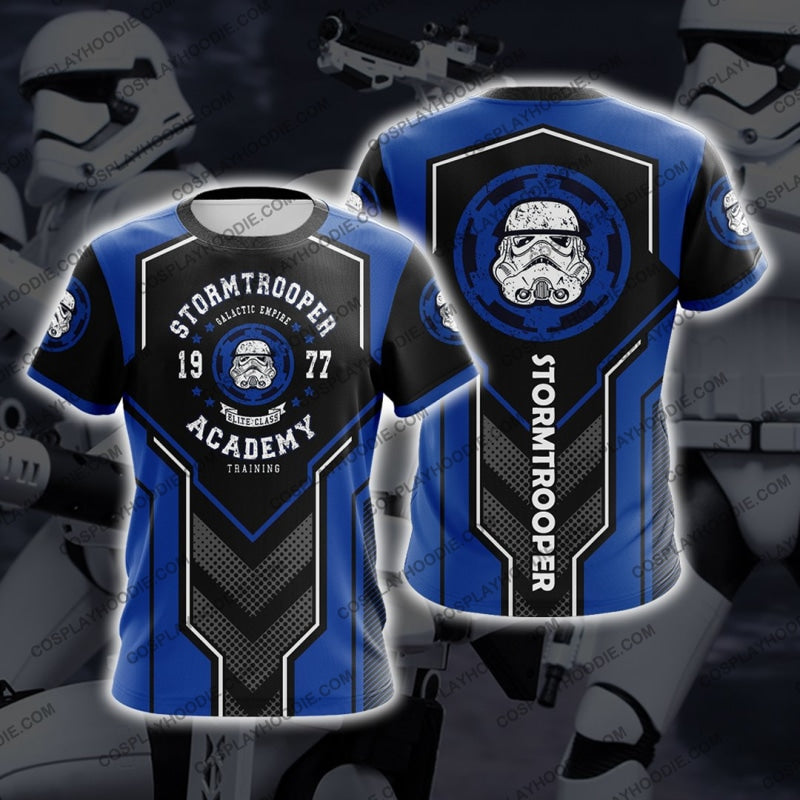 Star Wars Stormtrooper 1977 Blue T-Shirt T-Shirt