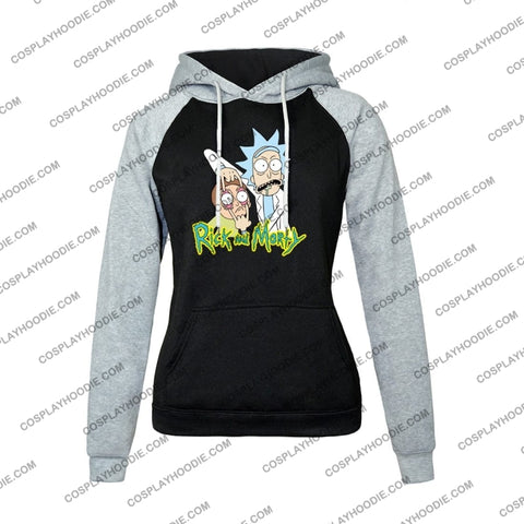 Rick And Morty Womens Hoodie Color2 / S
