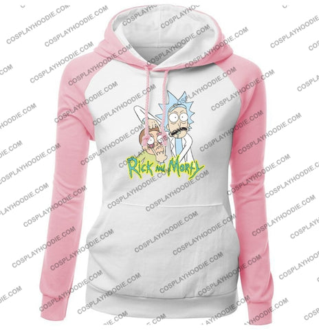 Rick And Morty Womens Hoodie Color3 / S