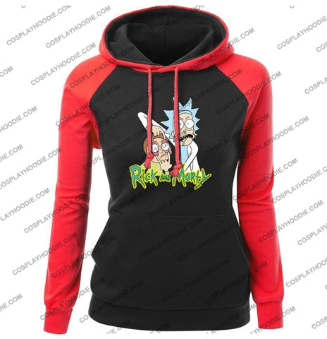 Rick And Morty Womens Hoodie Color4 / S