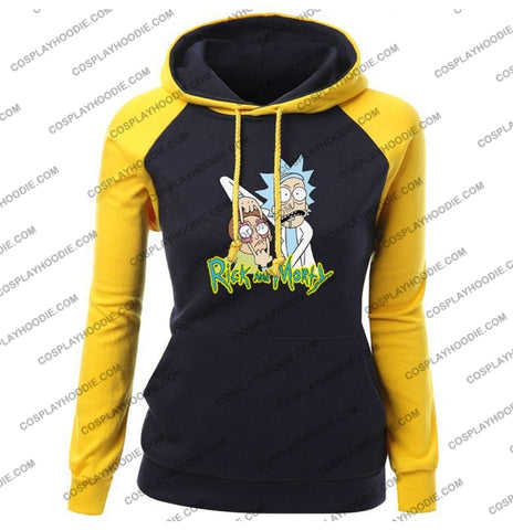 Rick And Morty Womens Hoodie Color5 / S