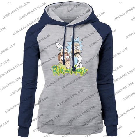 Rick And Morty Womens Hoodie Color1 / S