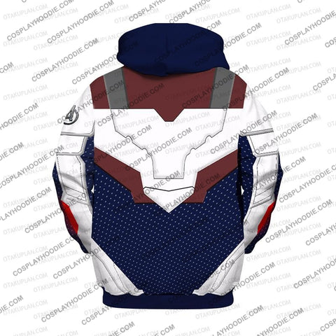 Image of The Avengers 4 Avengers: Endgame Quantum Suits Blue Suit Hoodie Cosplay Jacket Zip Up