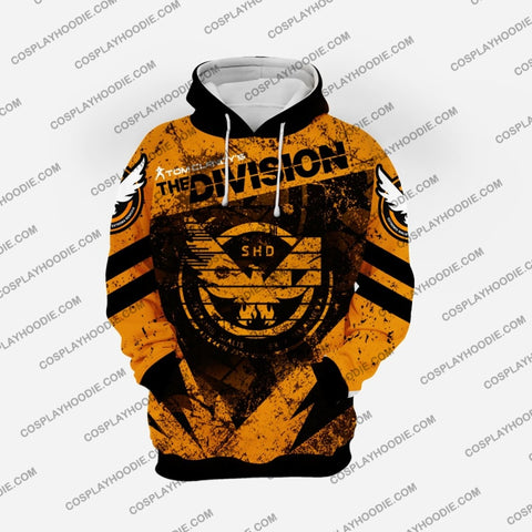 Image of The Division Orange Broken Cosplay Hoodie D1 Jacket