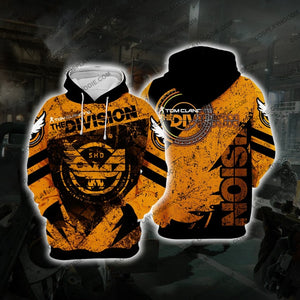 The Division Orange Broken Cosplay Hoodie D1 Jacket