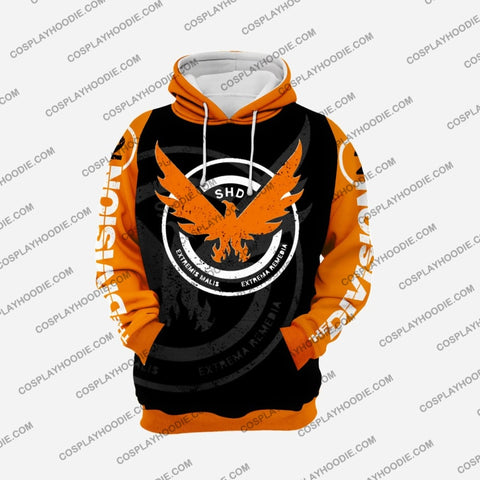 Image of The Division Orange Cosplay Hoodie C1 Jacket