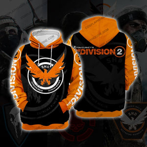 The Division Orange Cosplay Hoodie C1 Jacket