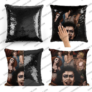 The Rocky Horror Show Sequin Pillow R2