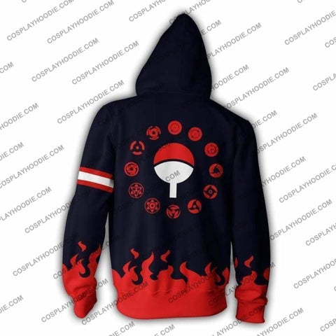 Image of Naruto Uchiha Family Hoodie Jacket Cosplay