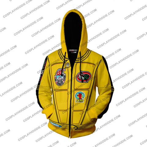 Image of Kill Bill The Bride (Beatrix Kiddo) Hoodie Cosplay Jacket Zip Up