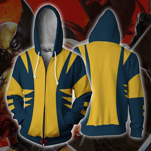 Image of Marvel Comics - X-Men Wolverine Cosplay Hoodie Jacket