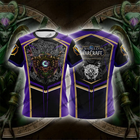 World Of Warcraft Druid Cosplay T-Shirt T-Shirt