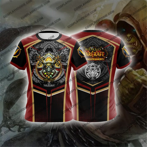 World Of Warcraft Shaman Cosplay T-Shirt T-Shirt