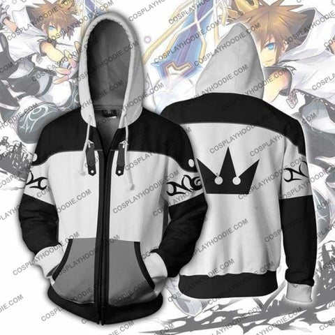 Kingdom Hearts Sora Final Form Zip Up Hoodie Jacket Cosplay
