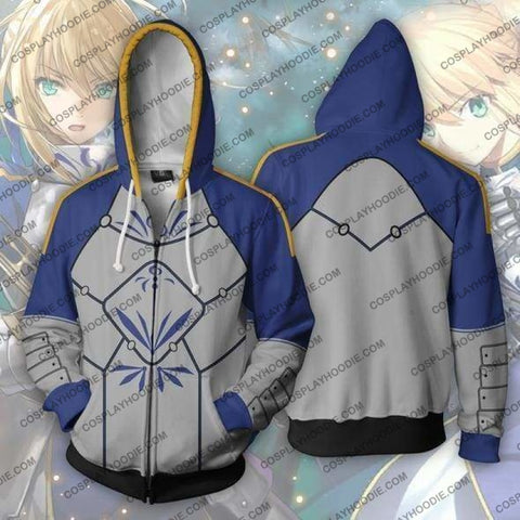 Fate Stay Night Fgo Hoodie - Saber Jacket Cosplay