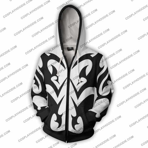 Kingdom Hearts Hoodie - Xemnas Jacket Cosplay