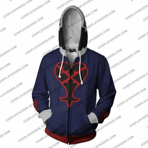 Kingdom Hearts Hoodie - Heartless Jacket Cosplay