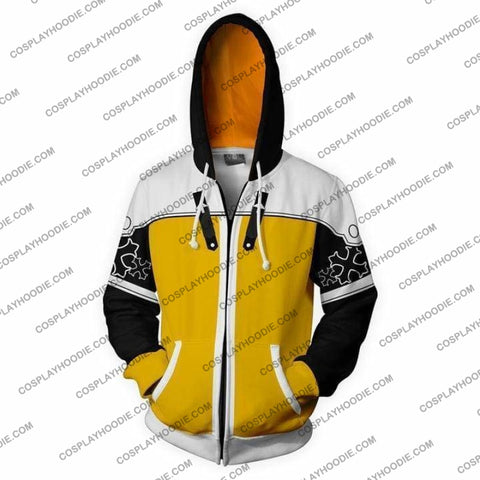 Kingdom Hearts Hoodies - Sora Mater Form Zip Up Hoodie Jacket Cosplay