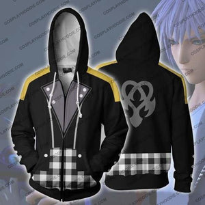 Kingdom Hearts Hoodie - Riku Keyblade Jacket Cosplay