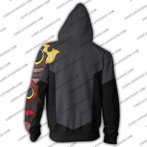 Kingdom Hearts Terra Hoodie Jacket Cosplay