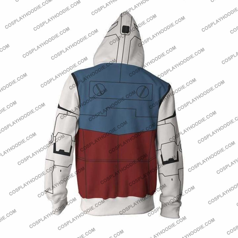 Mobile Suit Gundam Hoodie - R78 Jacket Cosplay