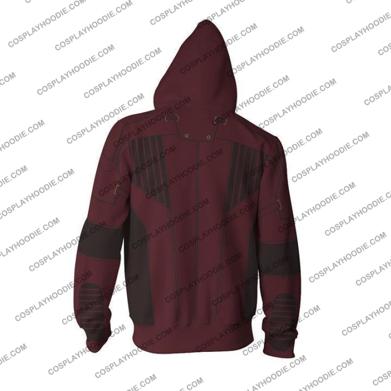 Avengers Infinity War Hoodie - Star Lord Jacket Cosplay