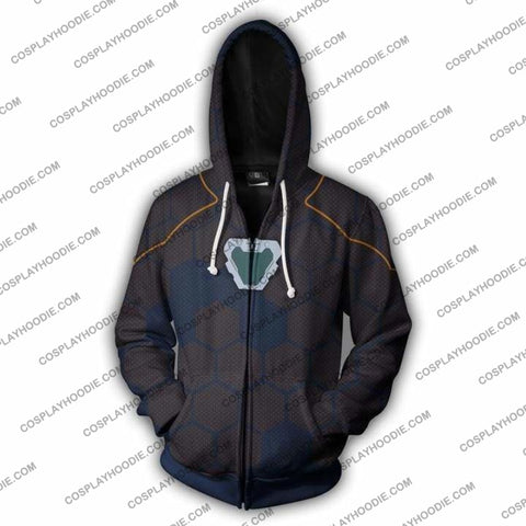 Image of Avengers Infinity War Hoodie - Tony Stark V2 Jacket Cosplay