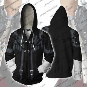 Kingdom Hearts Hoodies - Master Xehanort Zip Up Hoodie Jacket Cosplay