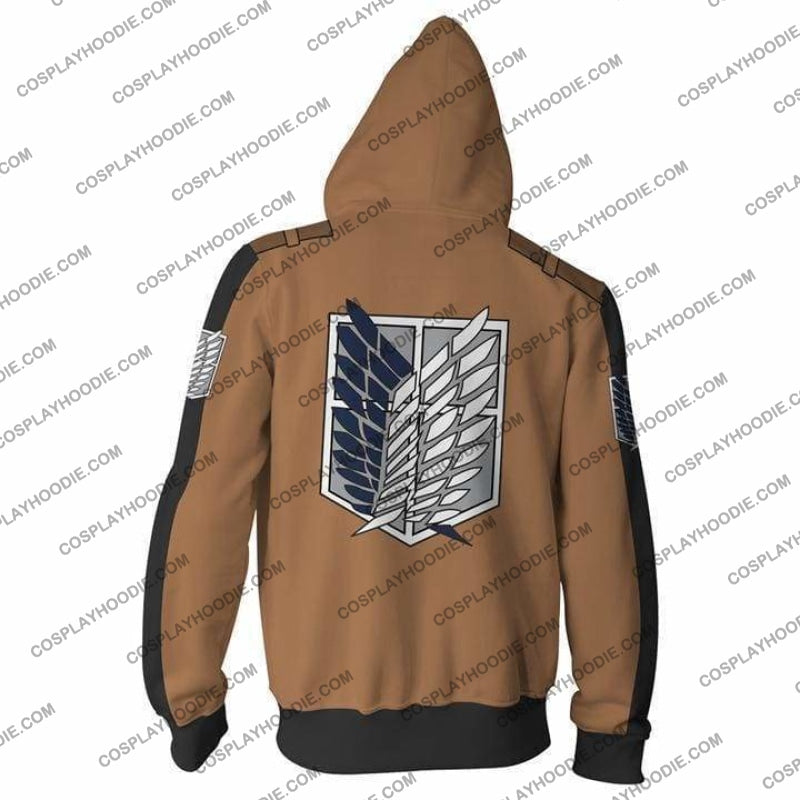 Attack On Titan Hoodie - On Jacket Cosplay