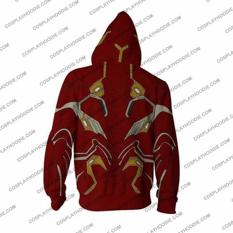 Image of Avengers Hoodie - Iron Man Mark 50 Jacket Cosplay