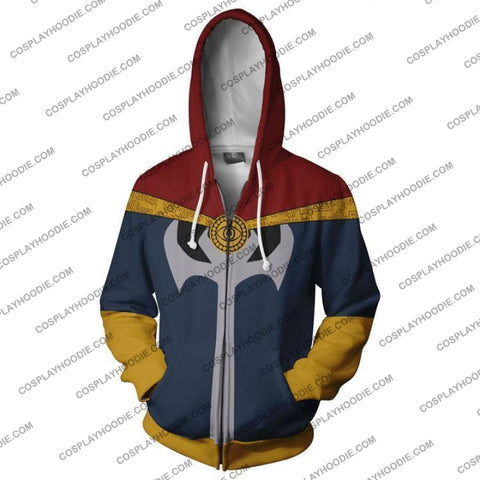 Image of Avengers Infinity War Doctor Strange Hoodie Jacket Cosplay