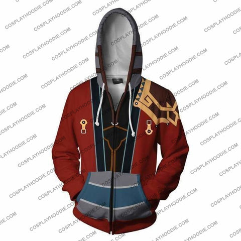Image of Final Fantasy X Hoodies - Auron Zip Up Hoodie Jacket Cosplay
