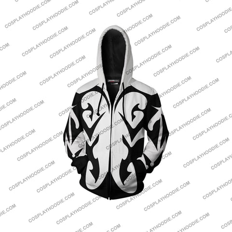 Image of Kingdom Hearts Xemnas Hoodie Cosplay Jacket Zip Up