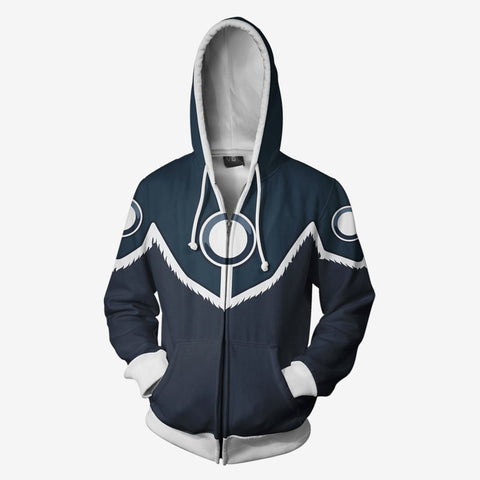 Image of Avatar The Last Airbender - Sokka Armor Cosplay Hoodie Jacket