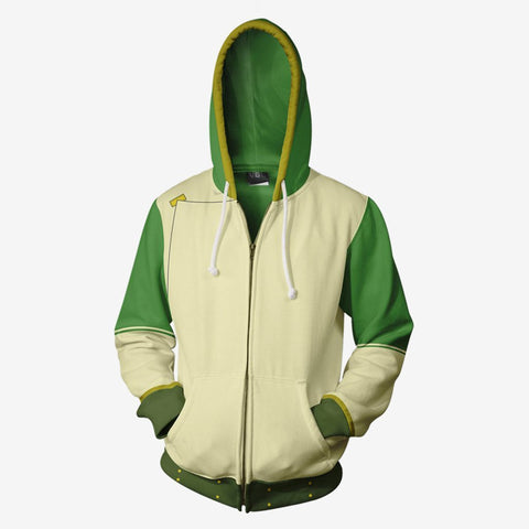 Avatar The Last Airbender - Toph Cosplay Hoodie Jacket