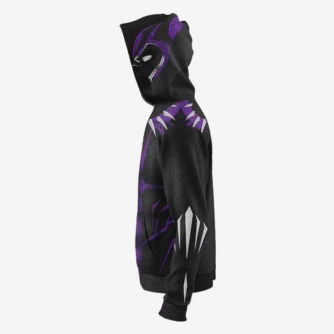 Marvel Comics - Black Panther Purple Cosplay Hoodie Jacket