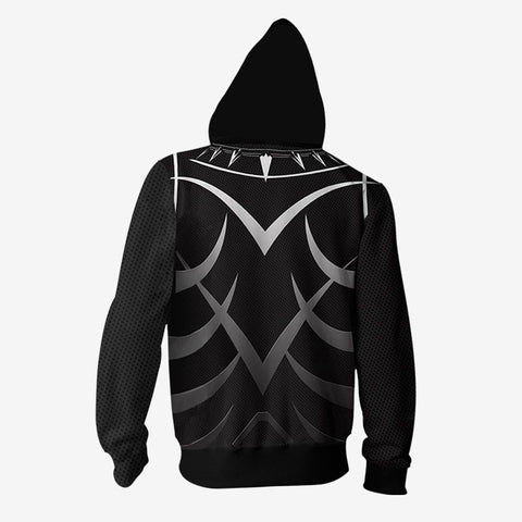 Marvel Comics - Black Panther Cosplay Hoodie Jacket