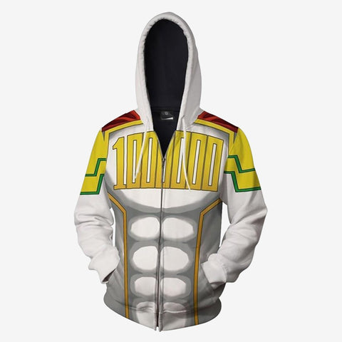 Image of Boku No Hero Academia - Mirio Togata Lemillion Cosplay Hoodie Jacket